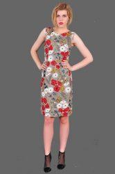 sukienka klasyczna maki
